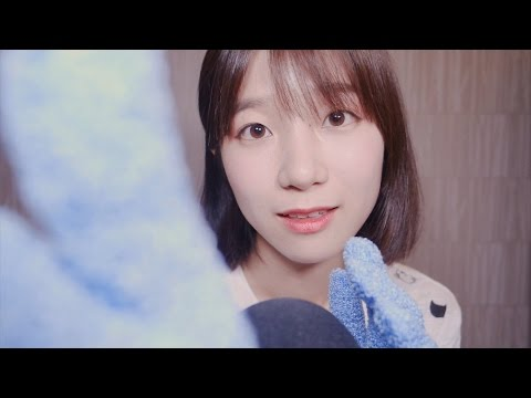 ASMR Various Gloves Sounds with Face Touching & Triggers