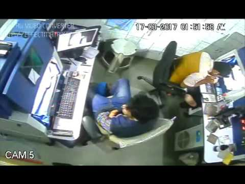 Live heart attack in office
