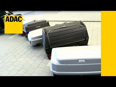 ADAC Test Heckboxen I ADAC 2017