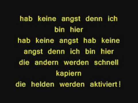 Apollo 3  - Superhelden (with lyrics)