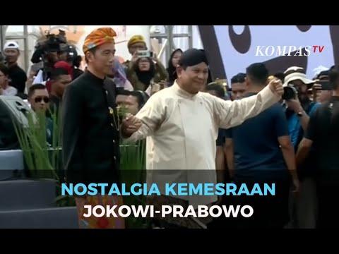 Yuk, Kita Bernostalgia Dengan Kemesraan Jokowi-Prabowo