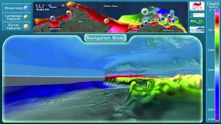 Titanic Ocean Exploration Centre Interactive 3D Seabed Simulation demo