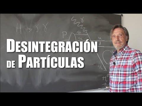 Desintegración de partículas