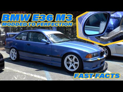This Is The Perfect Example Of A Well-Modded E36 | FAST FACTS
