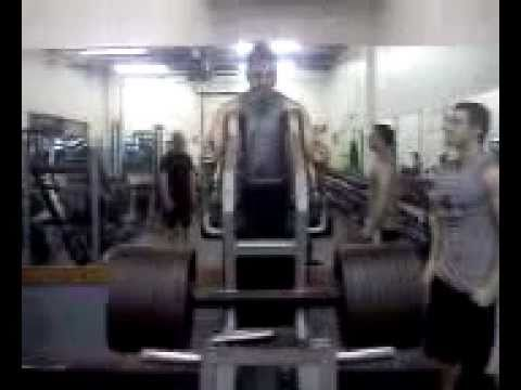 POST WORKOUT 945 Squat Machine Joe Previte
