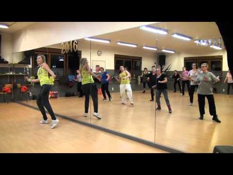 Zumba Gold – rock-n-roll – Tina Turner – Proud Mary (Zumba à Liège)