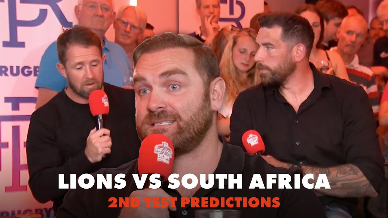 We predict the Lions vs South Africa 2nd Test | RugbyPass Live | Fanzone Lions Edition