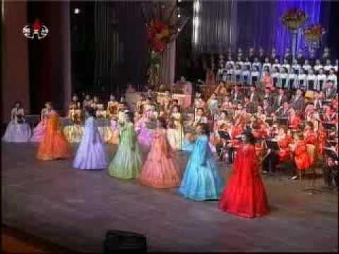 "[Samjiyon] ""Women are Flowers"" (IWD Concert) {DPRK Music}"
