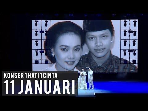 11 Januari Live Konser 1 Hati 1 Cinta  Armand Maulana