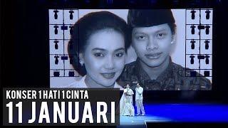 11 JANUARI (Live Konser 1 Hati 1 Cinta) | Armand Maulana