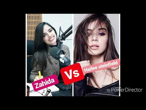 Zahida Horr vs hailee steinfeld
