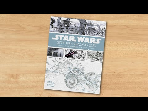 star-wars-storyboards:-the-prequel-trilogy