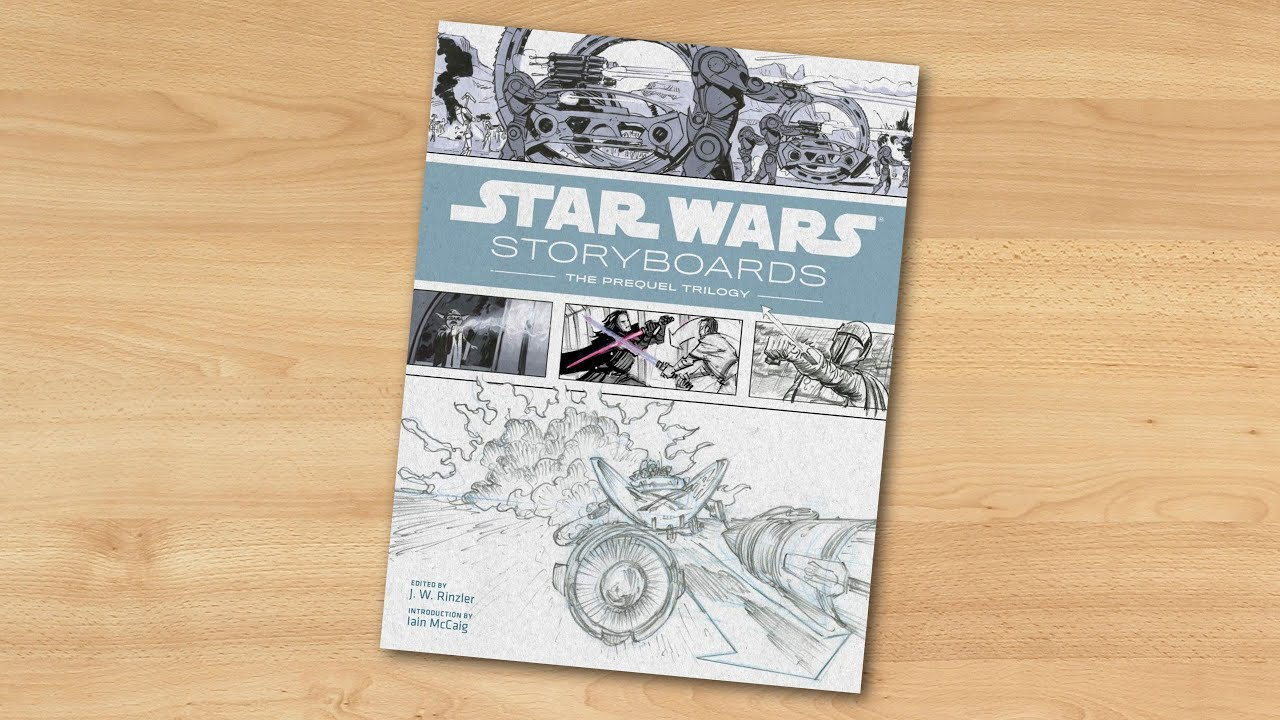 Star Wars Storyboards The Prequel Trilogy Youtube
