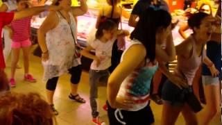 flashmob mercat carmel