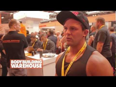 Interview with bodybuilder Ryan Cartwright at Bodypower 2012 with Bodybuilding Warehouse