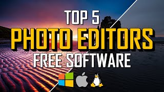 Top 5 Best FREE PHOTO EDITING Software (2021) screenshot 5