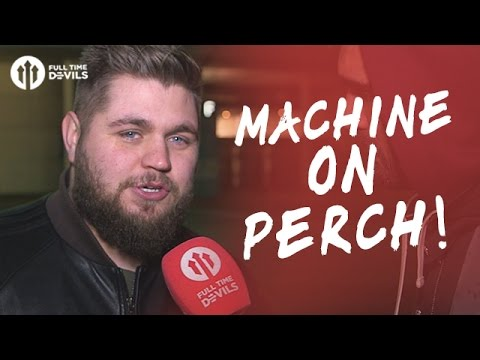Howson: Machine on Perch! | Manchester United 3-2 Southampton | FANCAM