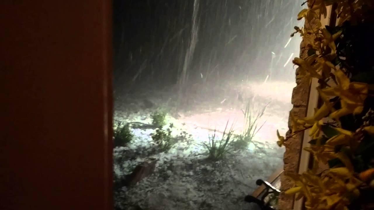 Epic hail storm San Antonio 2016 - YouTube