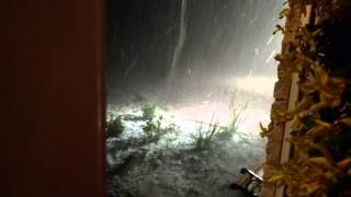 Epic hail storm San Antonio 2016