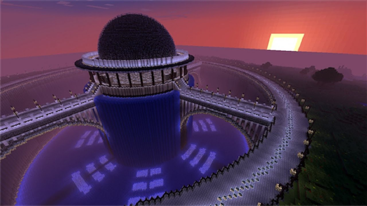 Minecraft futuristic server spawn map presentation and download minecraft futuristic server spawn map presentation and download youtube gumiabroncs Image collections