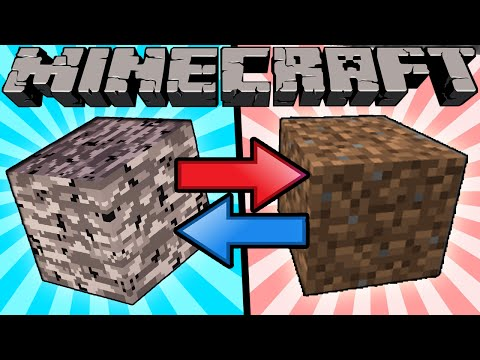 If Bedrock and Dirt Switched Places  Minecraft