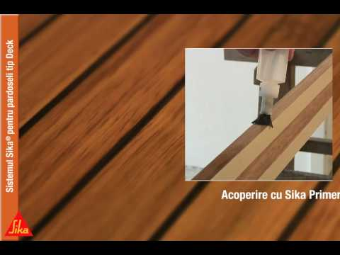 Sika Deck Caulking Youtube