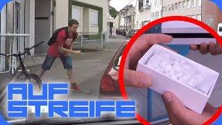 Achtung, Handybetrug! Wer spielt hier ein falsches Spiel? | Auf Streife | SAT.1 TV