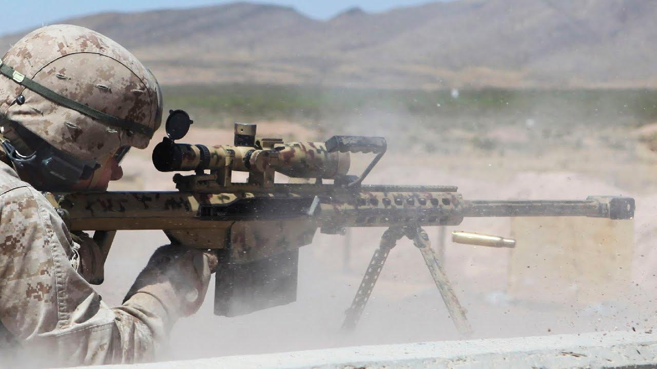 Download [Training] Snipers Shoot the Ultra Powerful M107 Barrett .50 Caliber Rifles