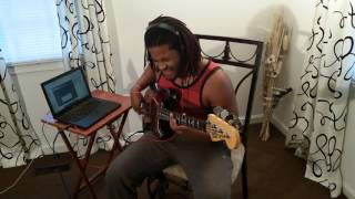 "Jovon Sykes ""Better""(Bass Cover) Tye Tribbett"