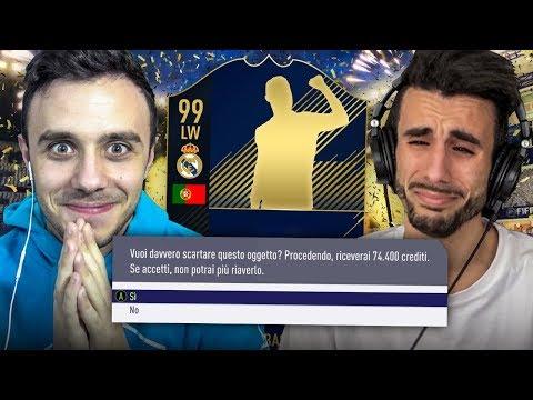 CHI PERDE SCARTA UN TOTY!!! INDOVINA il CALCIATORE su FIFA 18! w/OHM