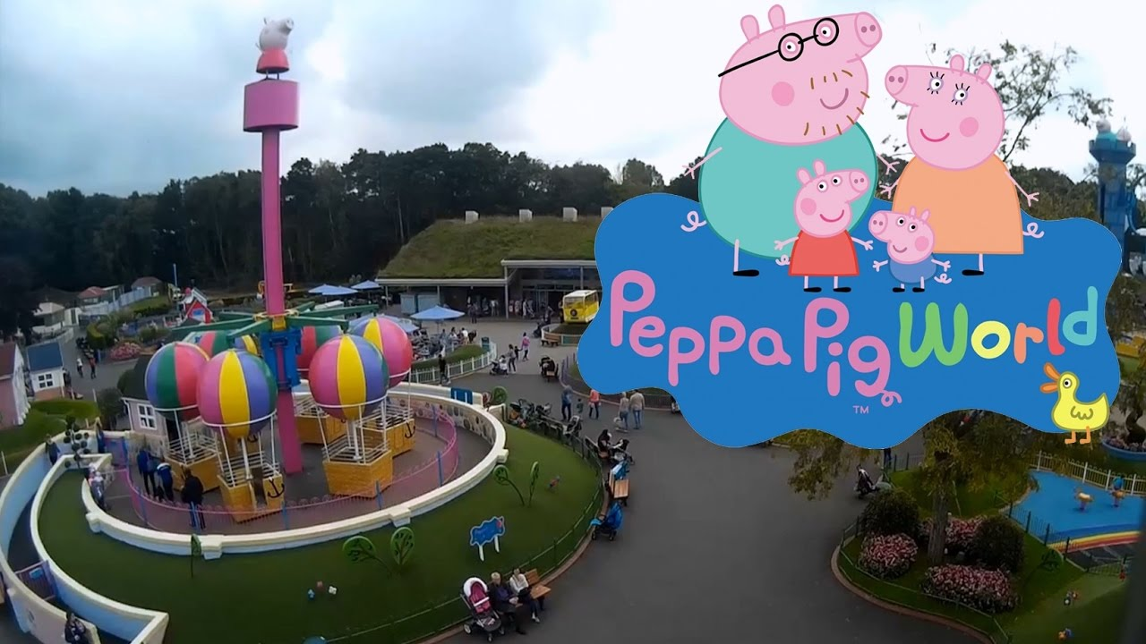 Taking The Twins To Peppa Pig World At Paultons Park