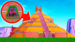 ESCAPE The PYRAMID To Survive! (Fortnite Escape Room)