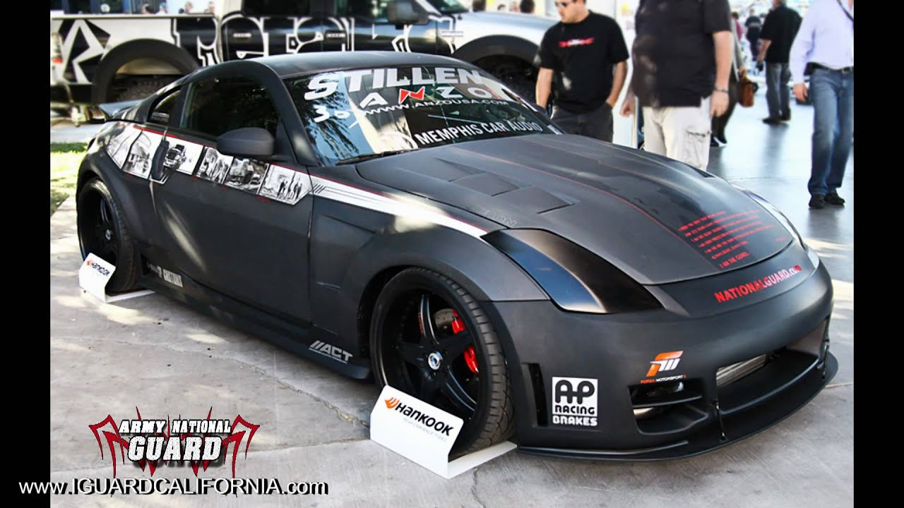 nissan 350z modified interior. national guard black ops nissan 350z pt2 youtube 350z modified interior s