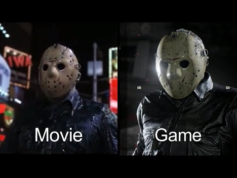 Friday the 13th Movie Vs Game Comparisons