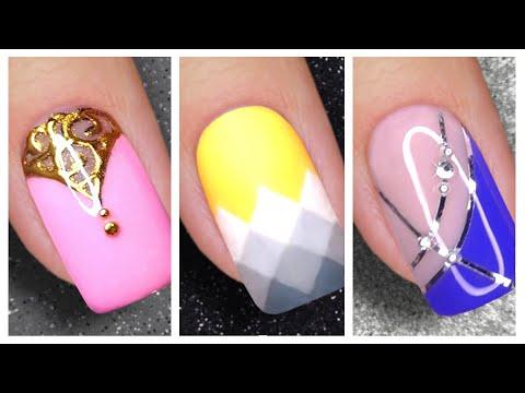 Nail Art Designs 2021   New Easy Nails Art