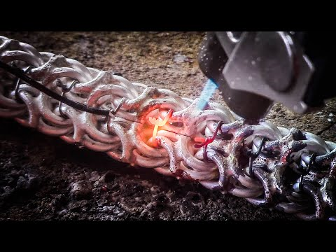 "Браслет. Плетение ""РАМЗЕС"" How To Make A Chain Bracelet ""RAMSES"""