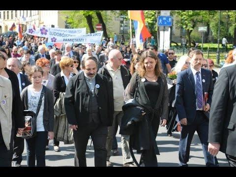 სომეხი ერის გენოციდის 100 წლისთავი პოლონეთი Армяне Галиции в Польша День Геноцида Армян 24.04.2015