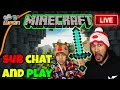 🔥 MINECRAFT LIVE STREAM 💙 MINI GAMES 🔶 LIVE NOW - Subscribers Chat and Play (12-26-17)