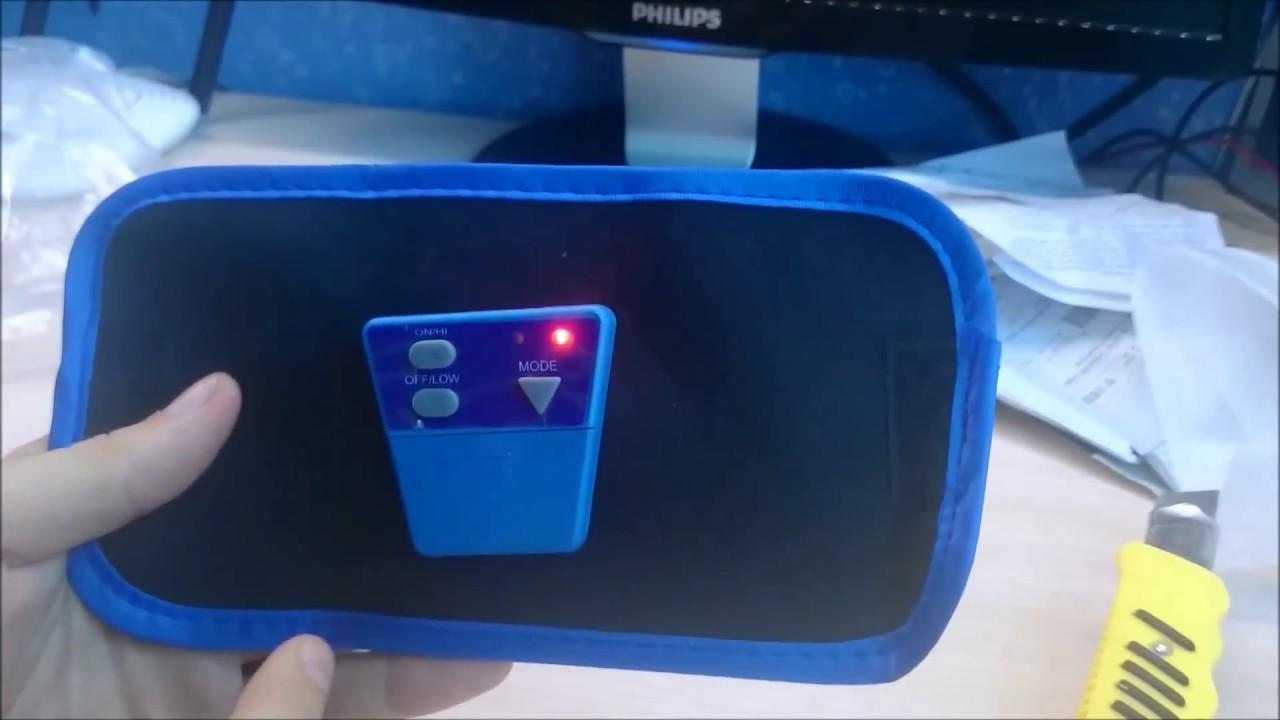 Пояс Тренажер Миостимулятор Электронный | пояс для похудения живота спортмастер инструкция