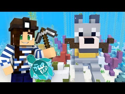 Building Pearl w/ LogDotZip   The Deep End Minecraft SMP