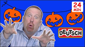 Gruseliges Halloween + MEHR | Halloween Deutsch für Kinder | Steve and Maggie Deutsch
