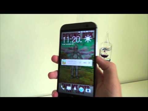 Demo: HTC One M8 Lollipop Music Player Lockscreen