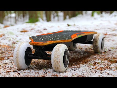 3D Printed Electric Skateboard Tires - DRIVE ANYWHERE!