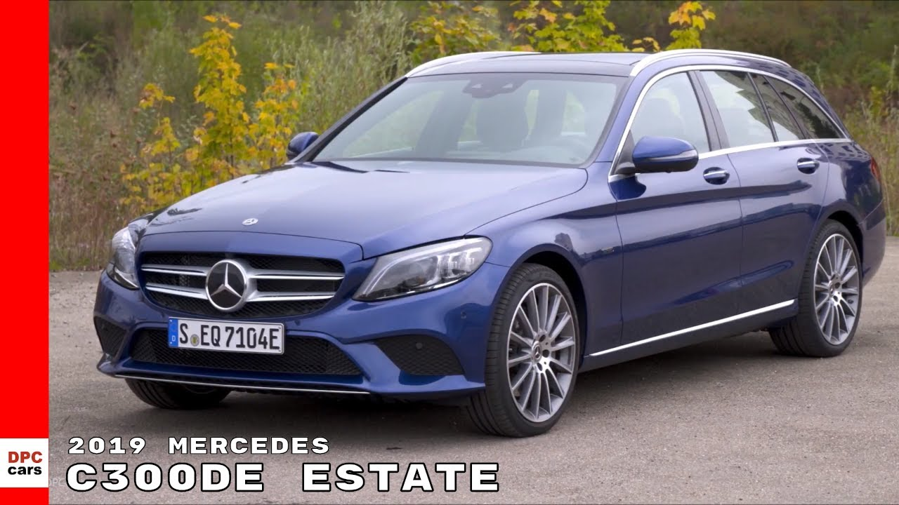 2019 mercedes c300de estate wagon eq