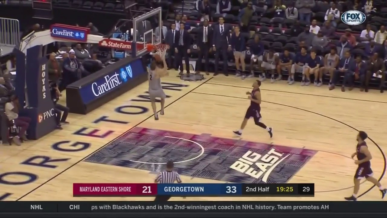 5ab702a74751 Mac McClung Shows Out On First College Dunk With Double-Pump Reverse ...