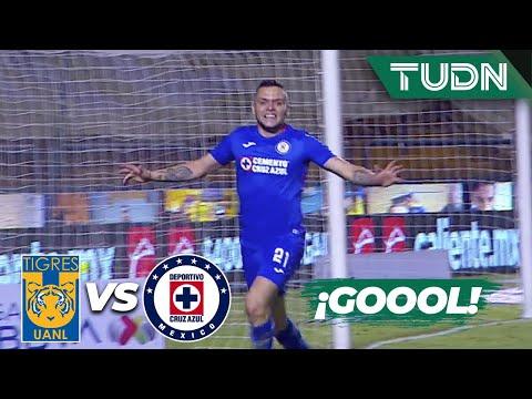 ¡Gol de la máquina! ¡Gol del 'Cabecita'! |Tigres 1-2 Cruz Azul | Guard1anes 2020 LigaBBVA MX |TUDN
