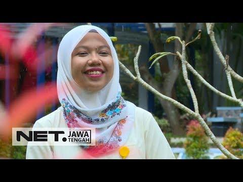 Raeni, Anak Pengayuh Becak Yang Sempat Viral, Kini Siap Ikuti Program Doktor di Inggris - NET JATENG