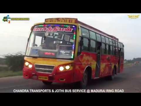 CHANDRA TRANSPORTS & JOTHI BUS SERVICE @ MADURAI RING ROAD
