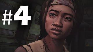 The Walking Dead Michonne Episode 1 - In Too Deep Part 4 Gameplay Walkthrough