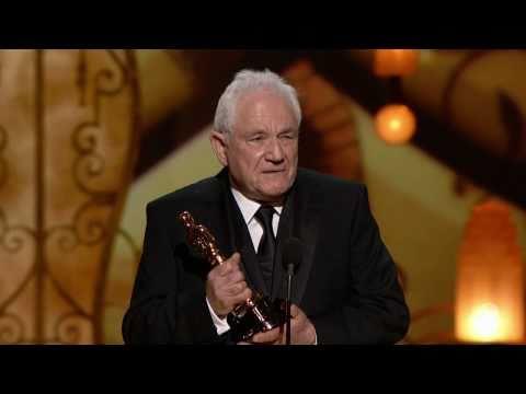 """David Seidler winning Best Original Screenplay for """"The King's Speech"""""""